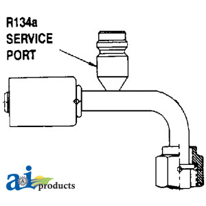 A-461-3269 FITTING #6-90-FOR-16MM