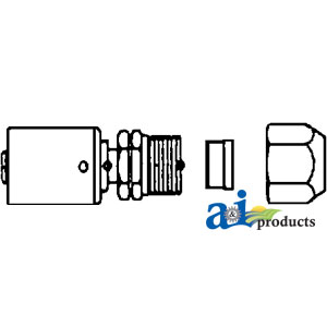 A-461-3281 FITTING STRAIGHT COMP.