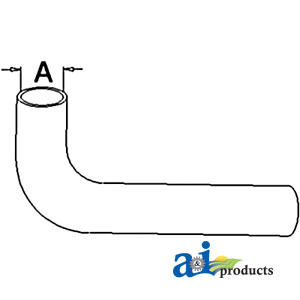 A-70229209 RADIATOR HOSE LOWER