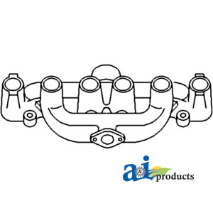 A-70229416 MANIFOLD (INTAKE/EXHAUST)