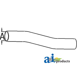 A-70235361 RADIATOR HOSE UPPER