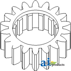A-70246545 REVERSE COUNTERSHAFT GEAR