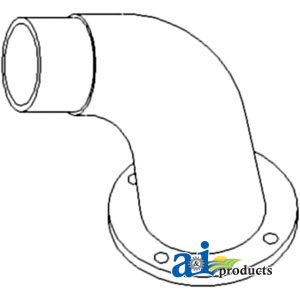 A-70253661 ELBOW EXHAUST