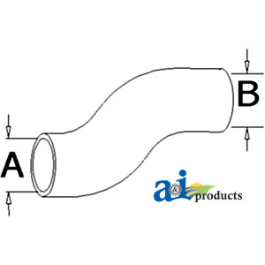 A-70268974 RADIATOR HOSE LOWER