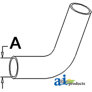 A-72097704 RADIATOR HOSE UPPER
