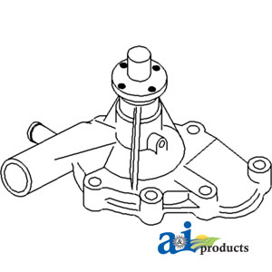 A-72099891 WATER PUMP (W/GASKET)