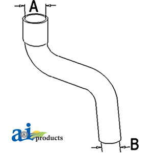 A-72104365 RADIATOR HOSE UPPER