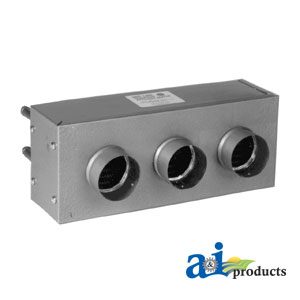 A-AH545 DUAL FAN HEATER